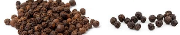 Black Pepper (Kalimirch) Spice Name in Hindi, different Indian languages (regional)