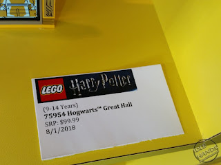 LEGO 2018 Sets Harry Potter 75954 Hogwarts Great Hall