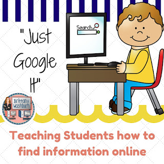 Teaching Students how to Google It