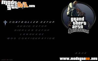Mod Novo Menu GTA San Andreas