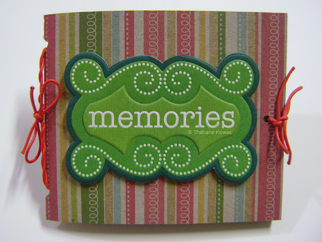 Mini álbum craft scrapbook