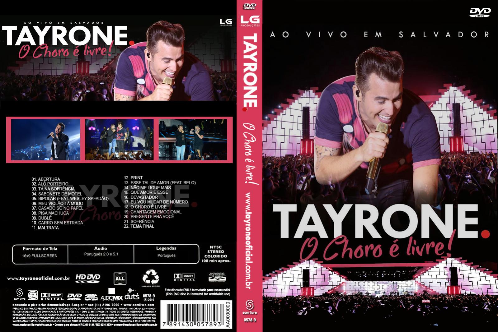 Tayrone O Choro É Livre DVDRip + DVD-R Tayrone 2BO 2BChoro 2B 25C3 2589 2BLivre 2B  2BXANDAO 2BDOWNLOAD