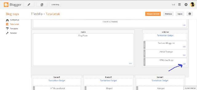 Cara Paling Mudah Melihat ID widget Sebuah Blog
