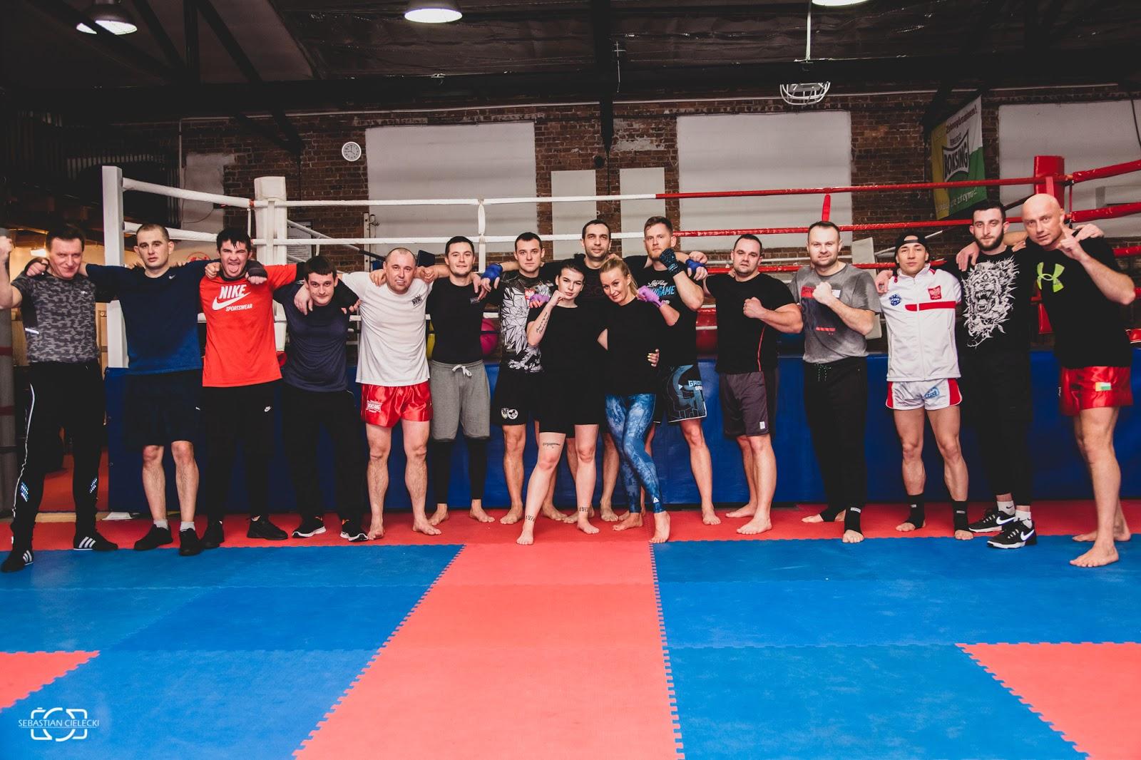 Relacja z treningu grupy Muay Thai Activ Pro