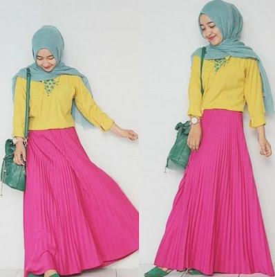 model baju muslim lebaran