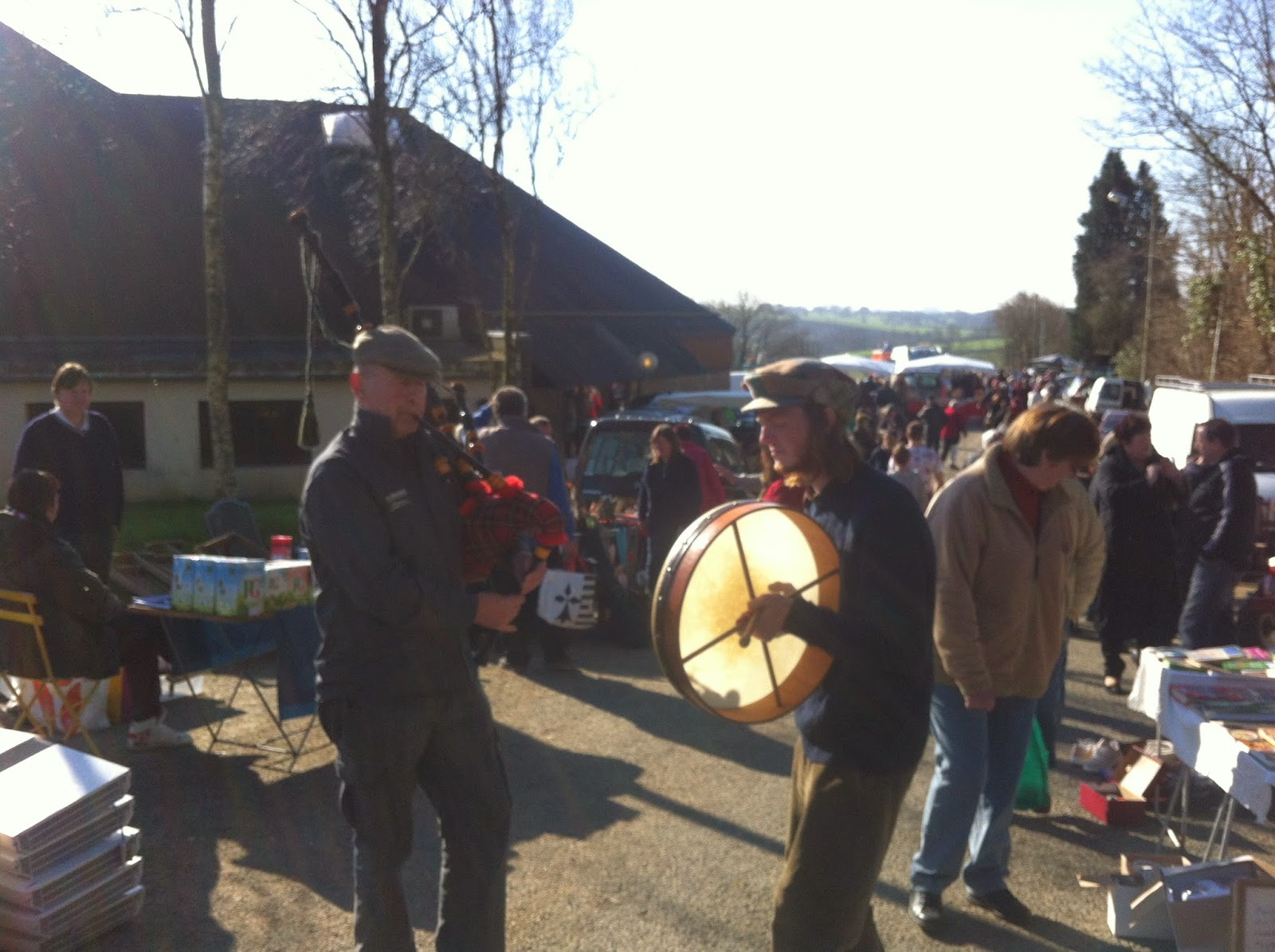 Dualt car boot sale France