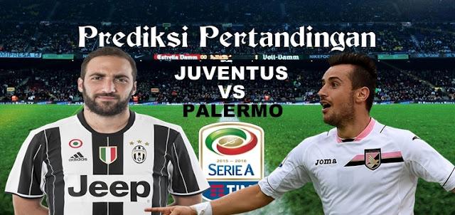Prediksi Pertandingan Juventus vs Palermo 18 Februari 2017