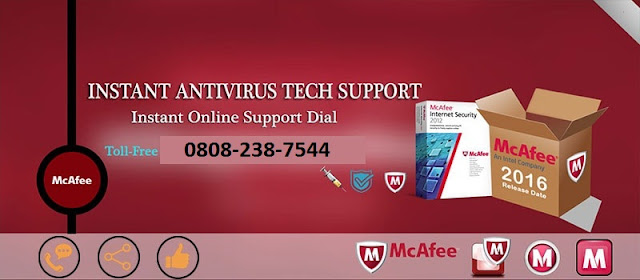 McAfee Helpline Number UK