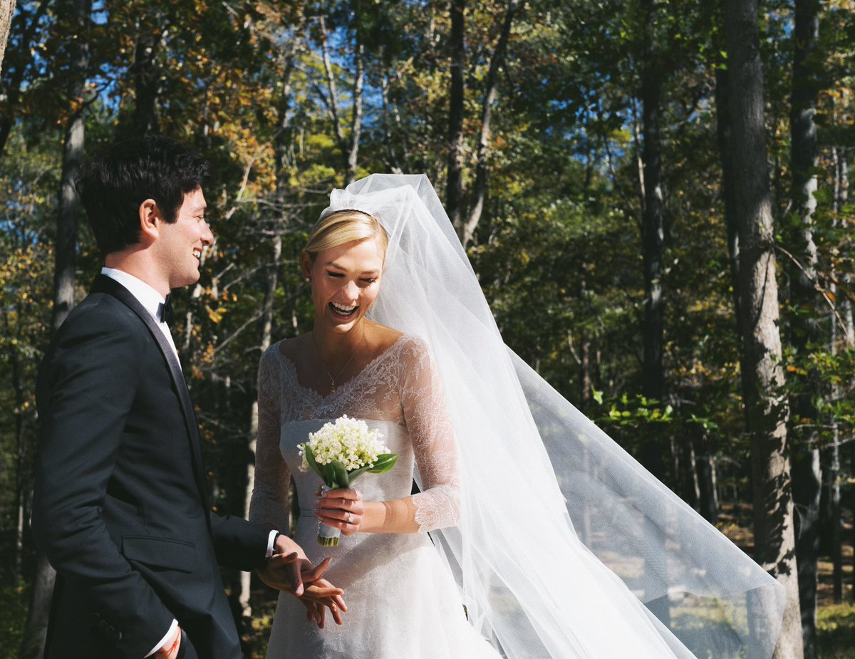 Karlie Kloss Is Married! Supermodel Weds Joshua Kushner in Custom Dior Gown