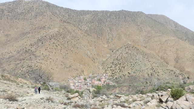 Wanderung im Ourika-Tal, Marokko