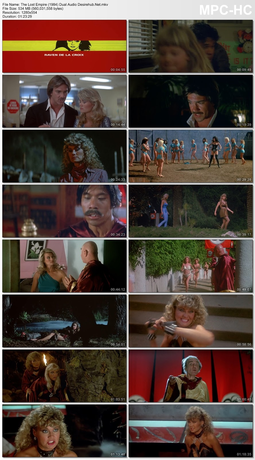 The Lost Empire 1984 Dual Audio Hindi UNRATED 720p BluRay 550MB Desirehub