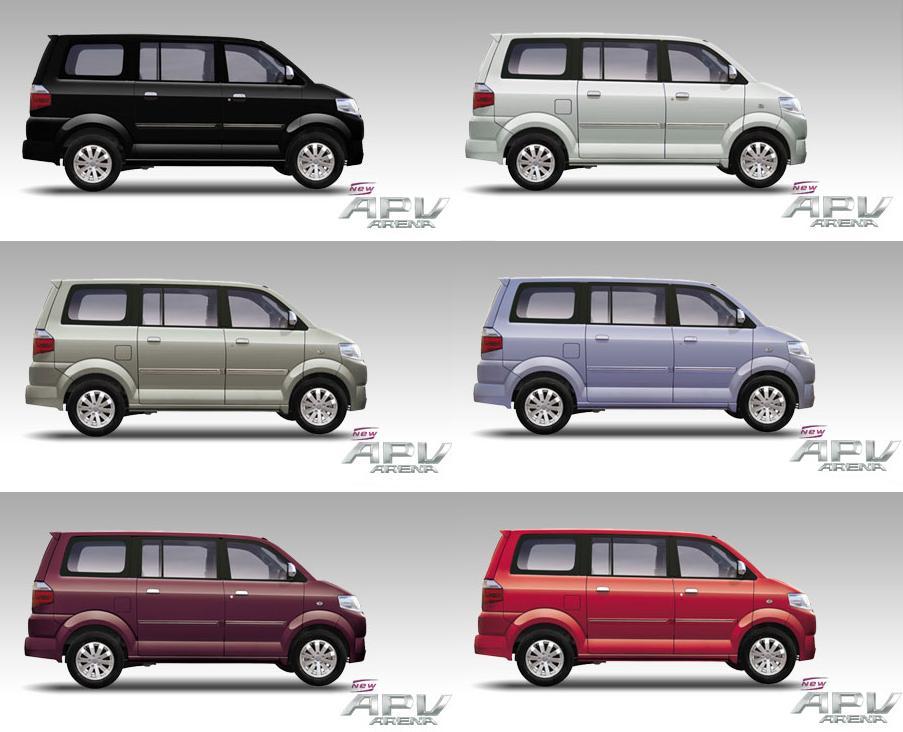 Suzuki APV Arena Specification
