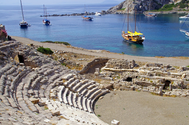 Ancient Knidos Turkey