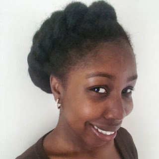 twisted crown on natural hair