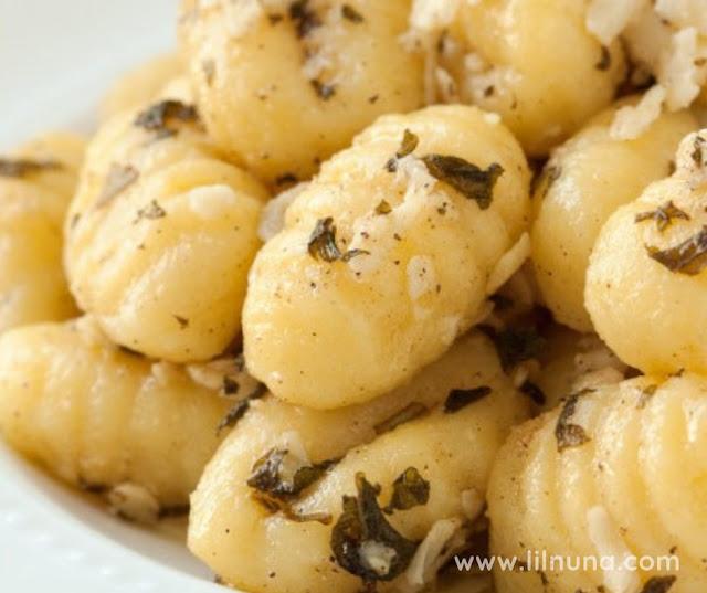 Browned Butter With Sage Lemon Gnocchi
