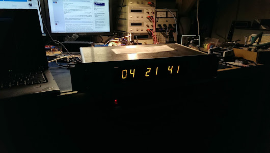 Large Display for GPS Disciplined Time Server
