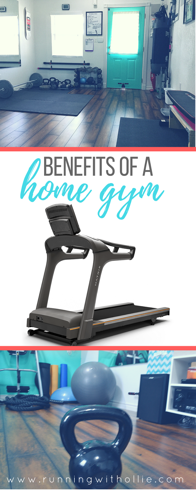 Running with ollie: 7 benefits of a home gym & cardio interval