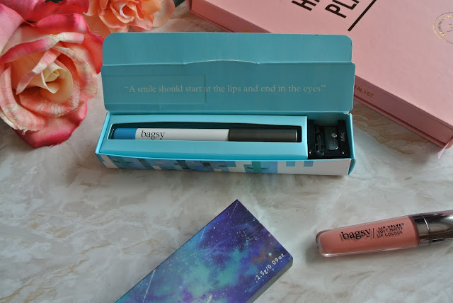 Bagsy Beauty Review & Swatches Wonder Wand Beautiful Eyes Lip Velvet Image