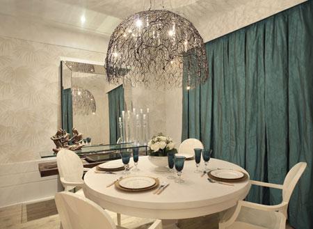 cadeiras louis ghost- sala de jantar