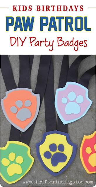 Paw Print Favors for Party