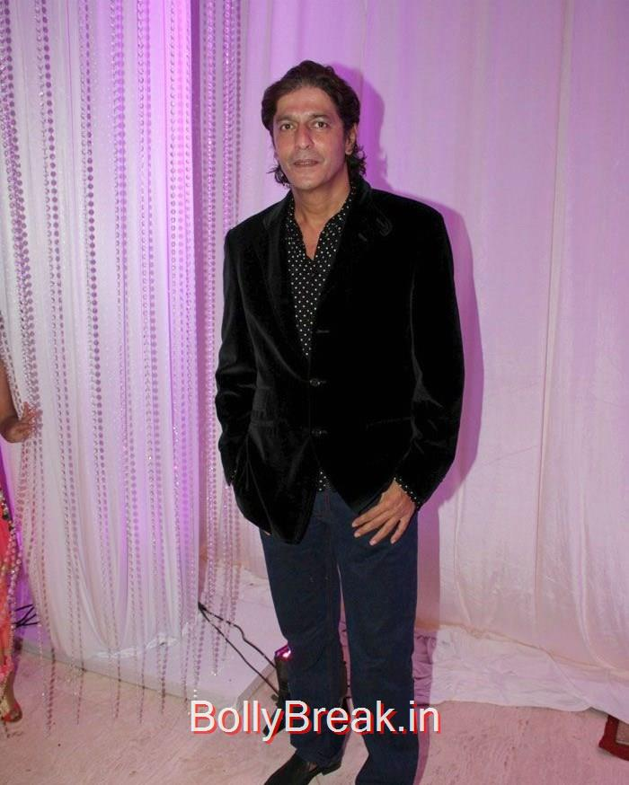 Chunky Pandey, Elli Avram Hot Pics At Karishma Jain & Abhishek Chhajer Wedding Ceremony