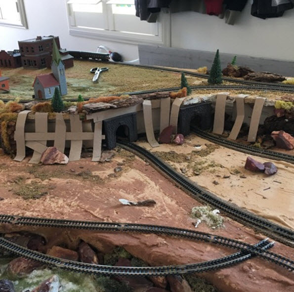 N Scale Railroad Gets a New Home - Part 1