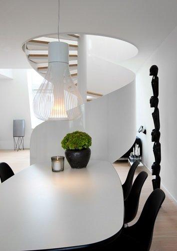 decoración minimalista monocromática