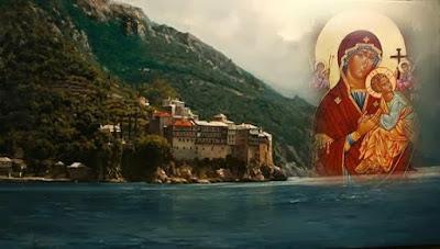 φώτο: Η Ιερά Μονή Γρηγορίου Αγίου Όρους