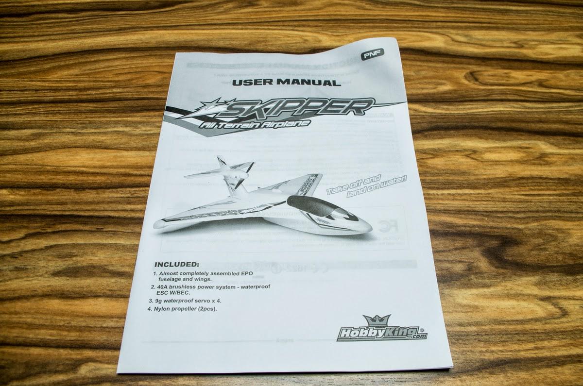 HobbyKing Skipper - the impressive all terrain plane (in
