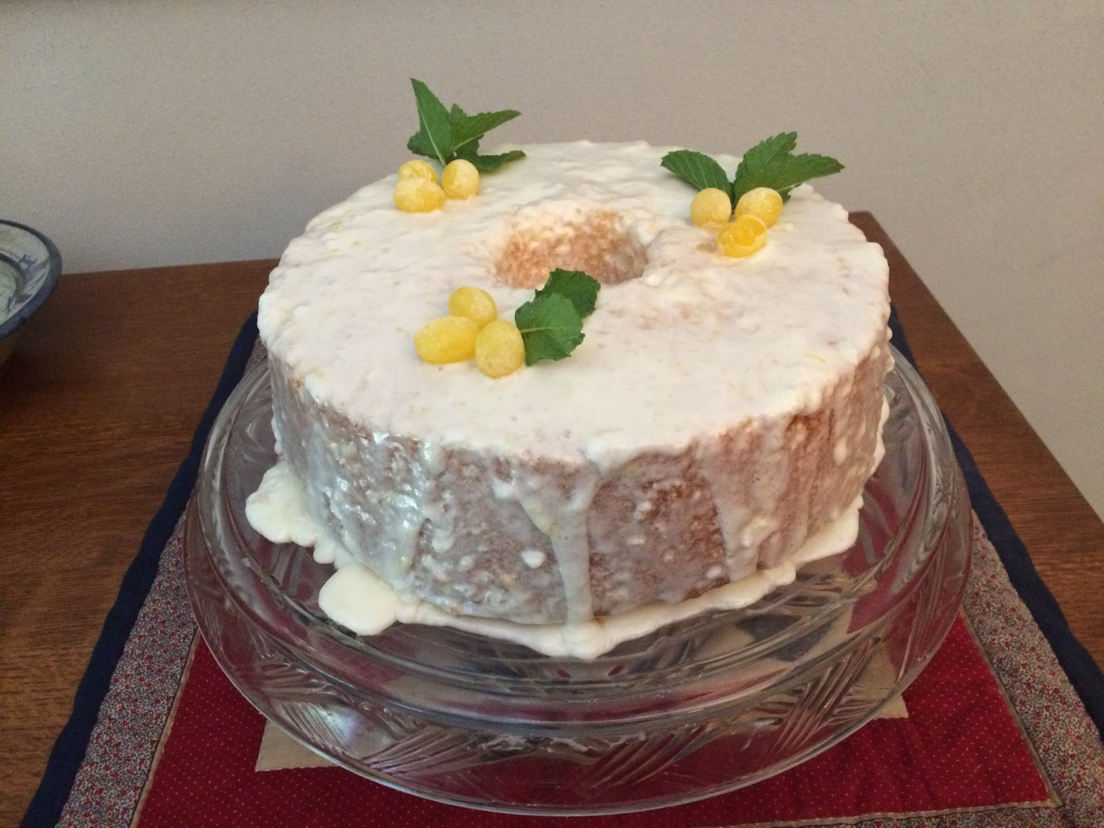 Silver Palate Glazed Lemon Cake Recipe
