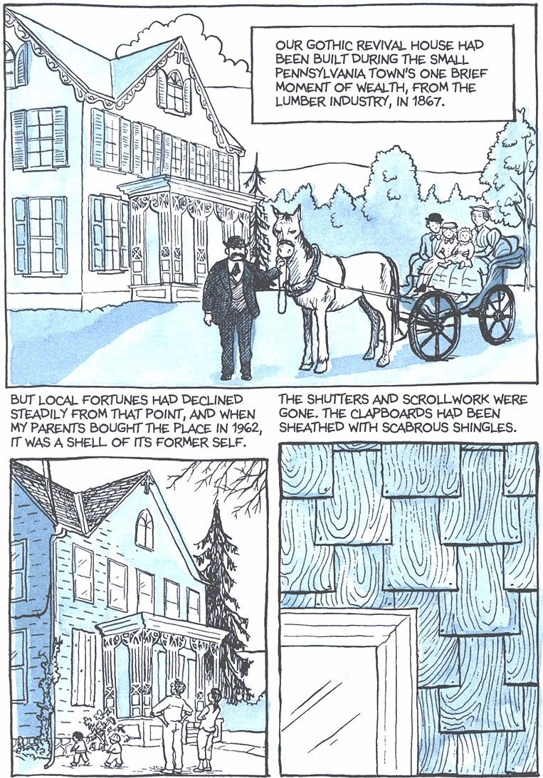 Read Fun Home: A Family Tragicomic - Chapter 1, Page 7