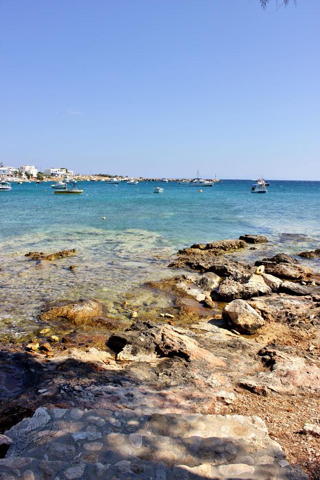Vacances en Grèce - Aliki, Paros, Cyclades, Grèce