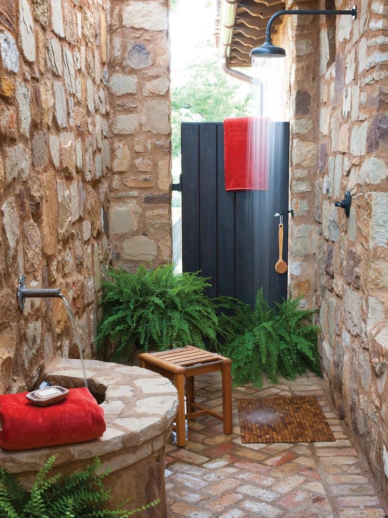 Desain Kamar Mandi Outdoor Shreenad Home Desain kamar mandi terbuka
