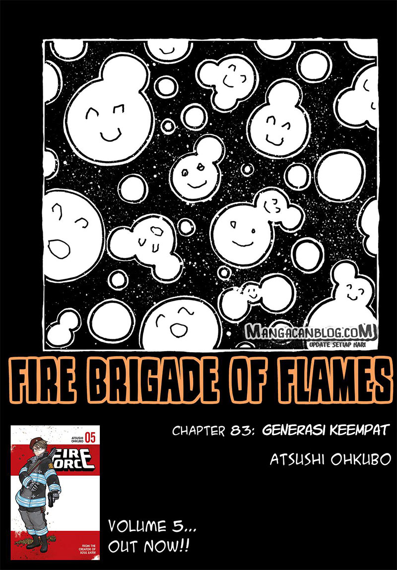 Fire Brigade of Flames Chapter 83-1