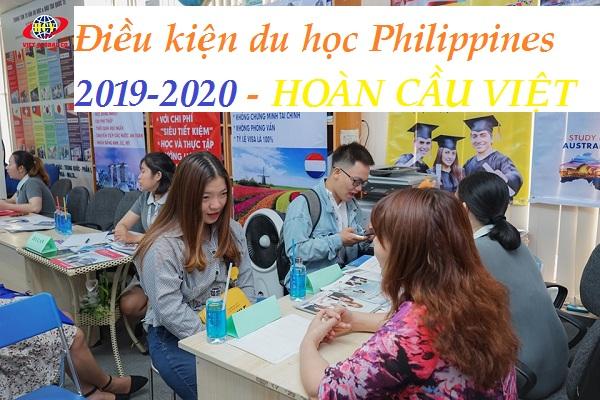 Điều kiện du học Philippines 2019 - 2020, du học Việt Global