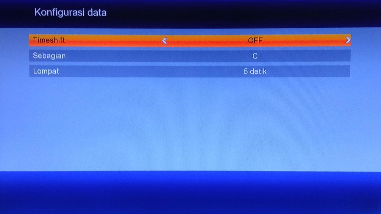 Cara membuang Timeshift Receiver Parabola di Flashdisk