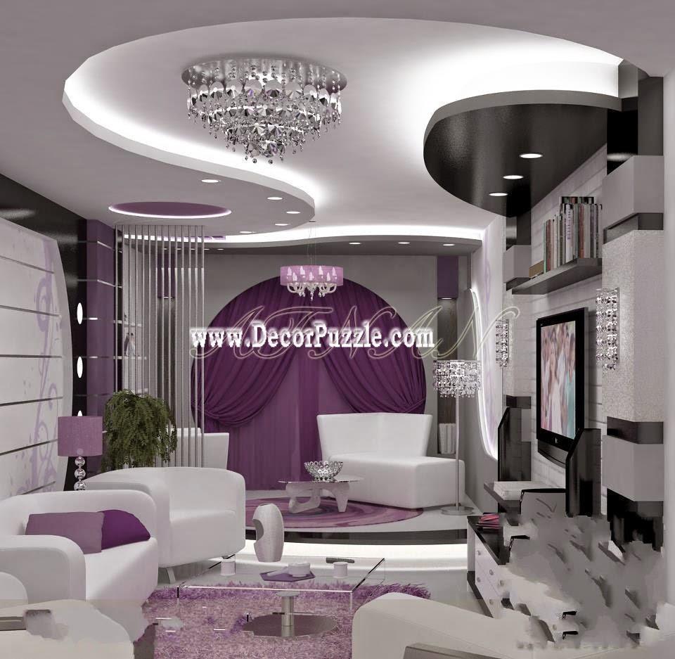 √ Latest 20 Pop false ceiling design catalogog with LED 2018