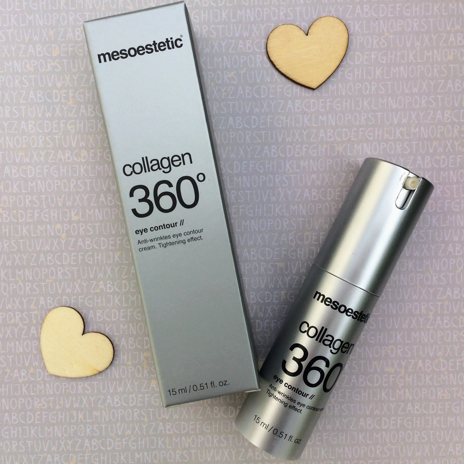 Mesoestetic collagen 360 eye cream