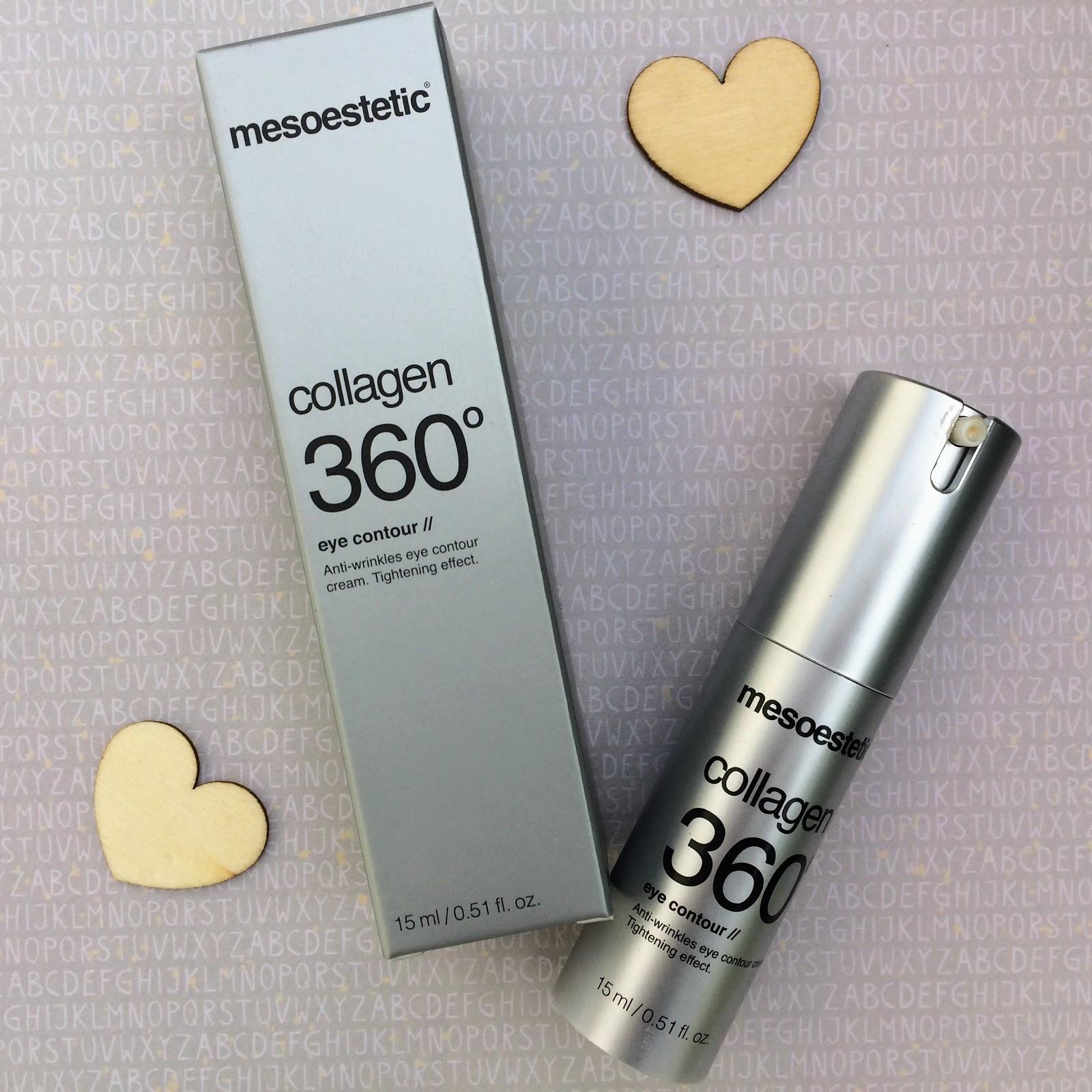 Mesoestetic collagen 360 eye cream