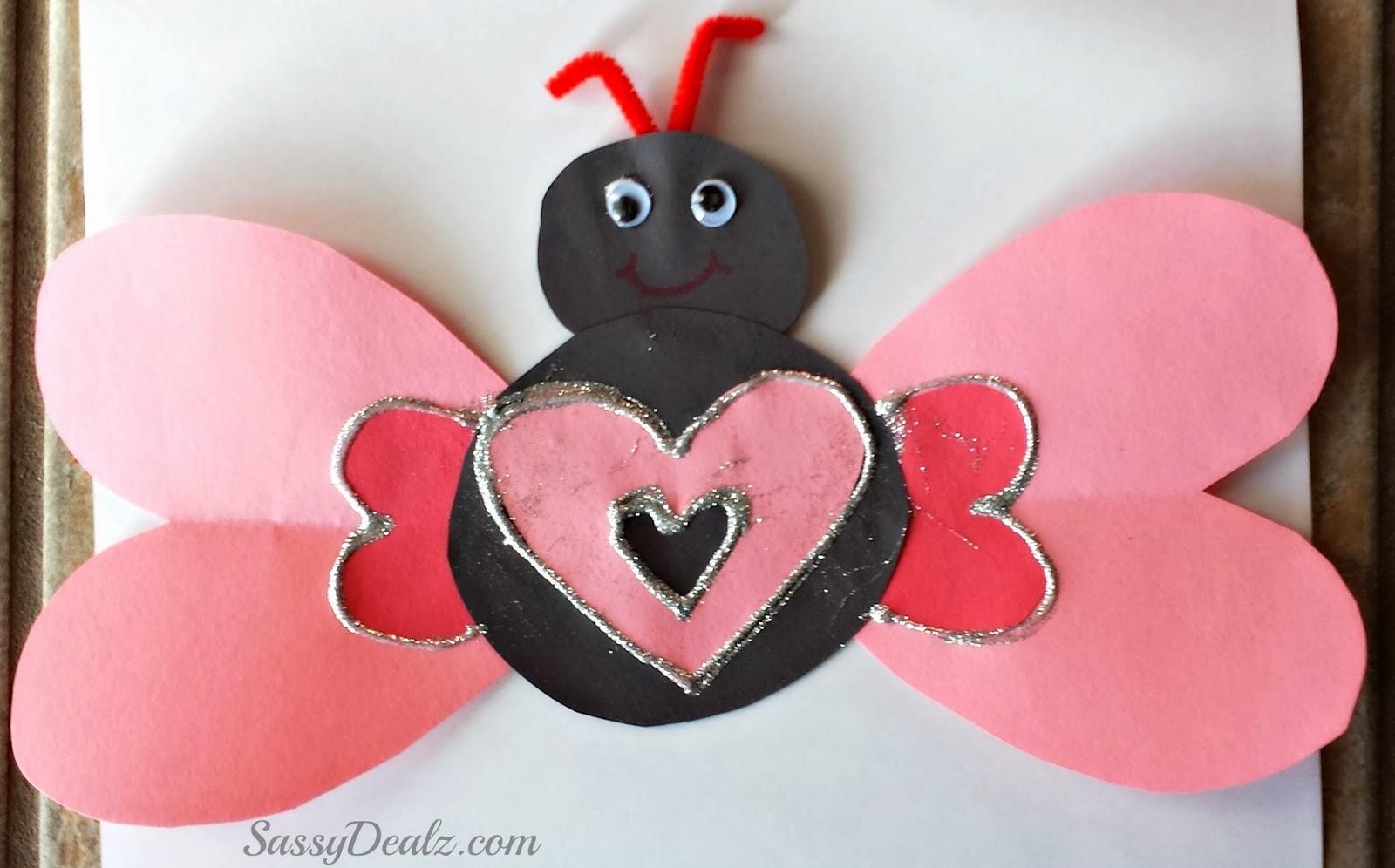 Valentine Craft Heart Butterfly