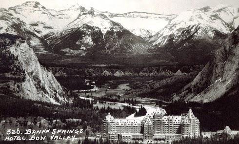 Banff Springs Hotel Archival Alberta