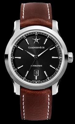 G. Gagnebin and Cie Karaktero automatic swiss watch