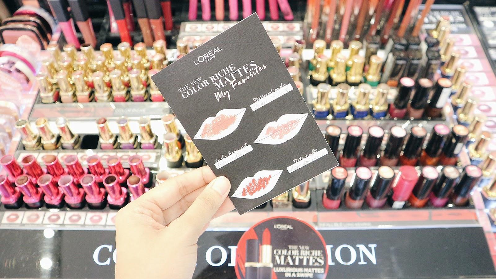 SM Beauty Playground Where to buy makeup in Manila? SM Makati