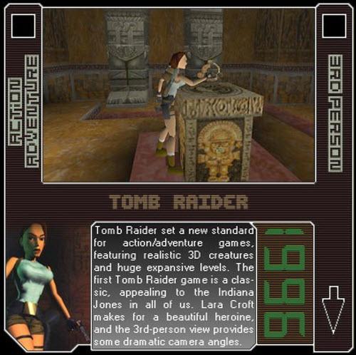 1996 - Tomb Raider