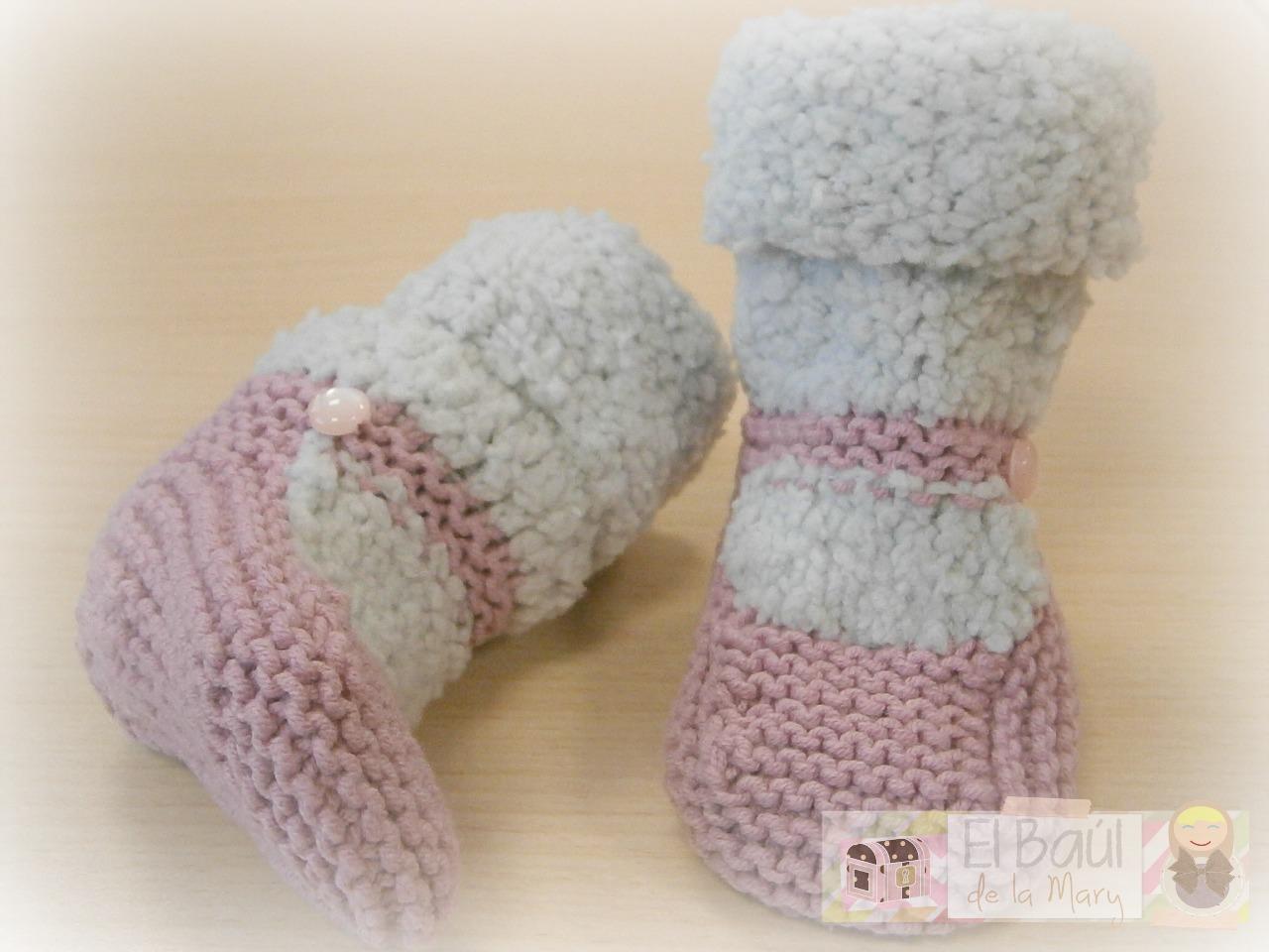 Calcetines bebé - Handbox Craft Lovers   Comunidad DIY, Tutoriales ...
