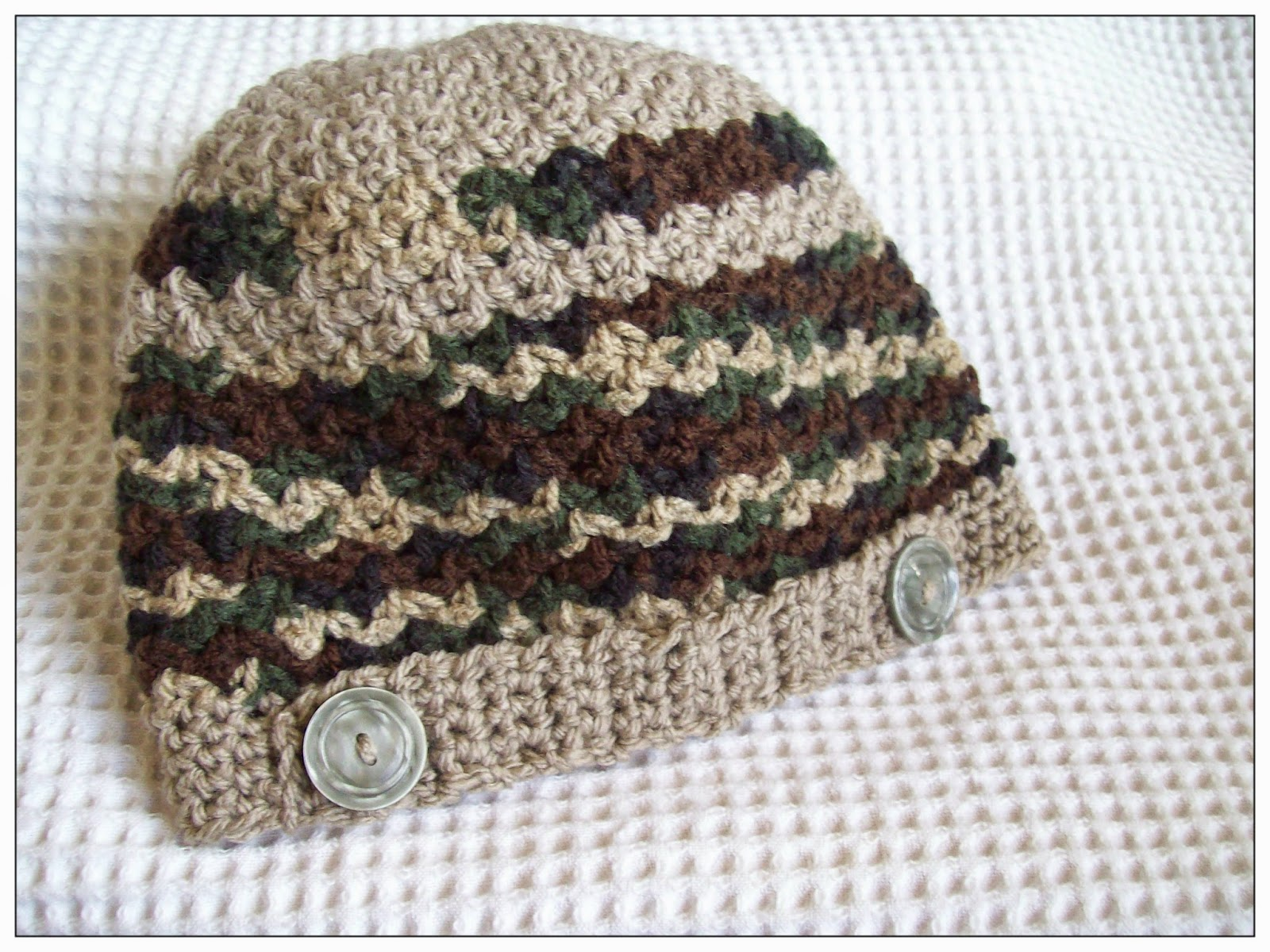 An Easy Textured Hat Pattern For Baby