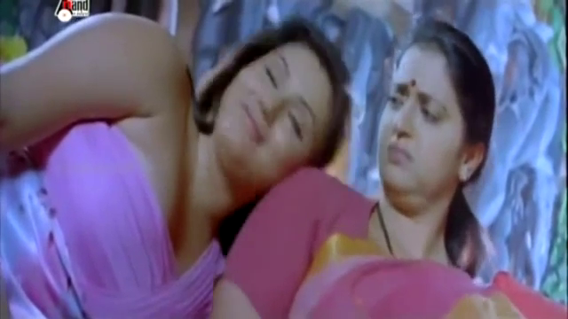 Video Namitha Hot figure Blue Pink Dress