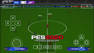 Pes 2020 ISO file for ppsspp With PS4 camera