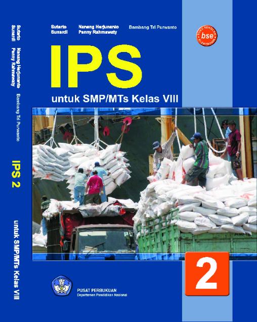 Download Buku Siswa KTSP SMP dan MTs Kelas 8 Ilmu Pengetahuan Sosial Untuk SMP/MTs