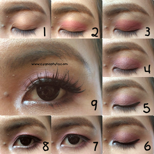 Tutorial : Simple Romantic Eye Makeup